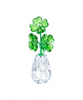Swarovski Flower Dreams - Four-leaf clovers Decoração Figura de Cristal 5415274