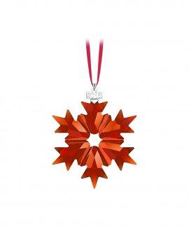 Swarovski Christmas Snowflake Decoração Figura de Cristal Adorno 5460487