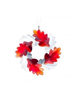 Swarovski Wreath - Leaves Decoração Figura de Cristal Adorno 5464866