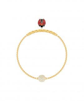 Swarovski Remix Ladybug Strand M Joia Pulseira Mulher 5466832