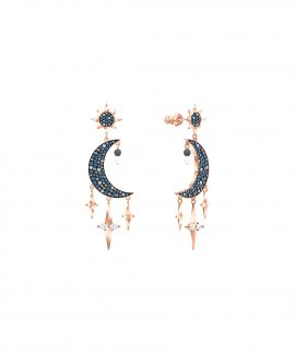 Swarovski Symbolic Moon and Stars Joia Brincos Mulher 5489536