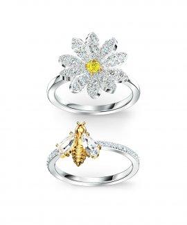 Swarovski Eternal Flower Joia Anel Mulher 5512661