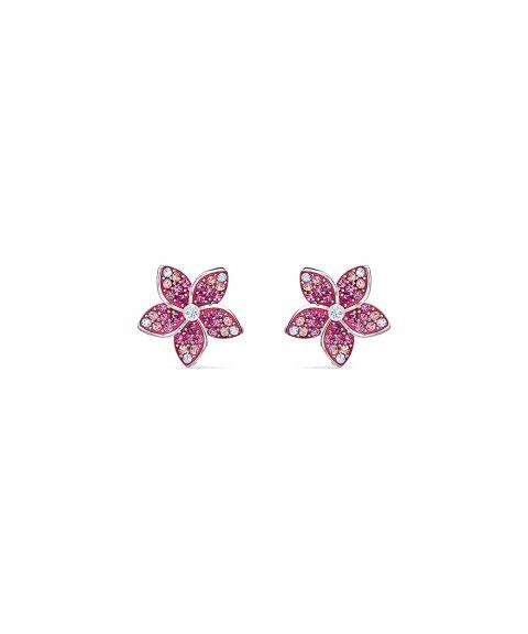 Swarovski Tropical Flower Joia Brincos Mulher 5519254