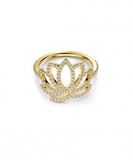 Swarovski Symbolic Lotus Joia Anel Mulher 5521497
