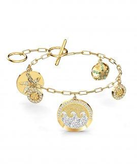 Swarovski Shine Coins Joia Pulseira Mulher 5524188