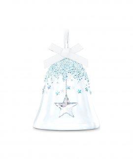 Swarovski Bell with Star Decoração Figura de Cristal Adorno 5545451