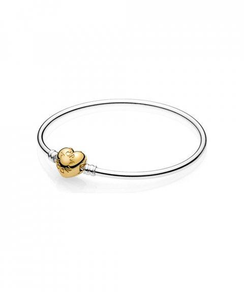 Pandora Shine Moments Logo Heart Joia Pulseira Mulher 567163