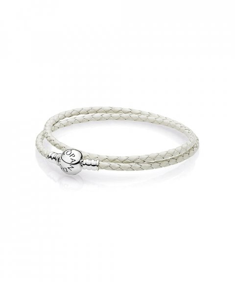 Pandora Moments Double Woven Joia Pulseira Mulher 590745CIW