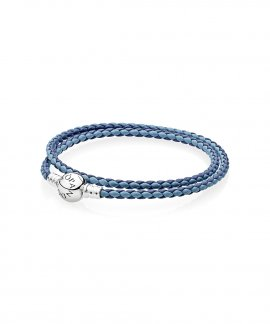 Pandora Moments Double Woven Joia Pulseira Mulher 590747CBMX