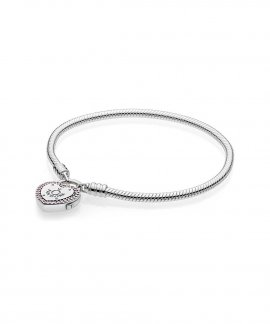 Pandora Lock Your Promise Joia Pulseira Mulher 596586FPC