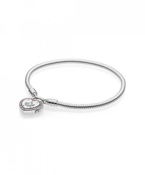Pandora Lock Your Promise Joia Pulseira Mulher 596586FPC