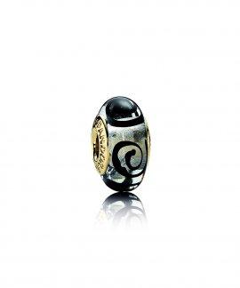 Pandora Black Swirl Joia Conta Mulher 750511
