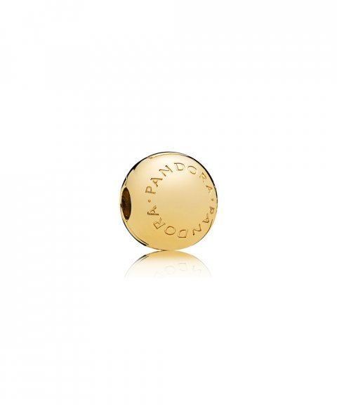 Pandora Shine Logo Joia Conta Clip Mulher 767053