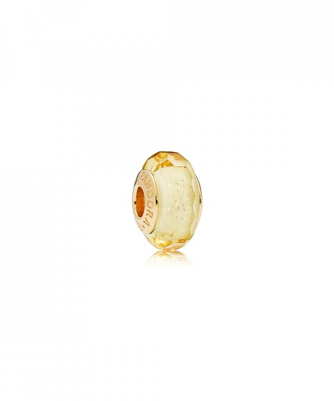 Pandora Shine Golden Faceted Joia Conta Mulher 767647