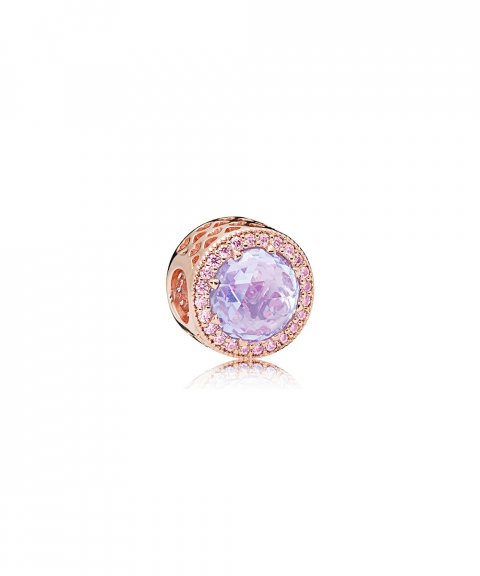 Pandora Rose Radiant Hearts Lavender Joia Conta Mulher 781725LCZ