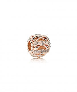 Pandora Rose Shimmering Sentiments Joia Conta Mulher 781779CZ