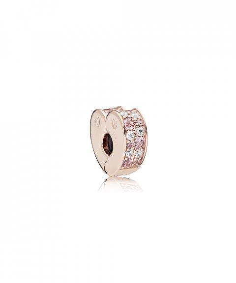Pandora Rose Pink Mix Arcs of Love Joia Conta Clip Mulher 787020NPM