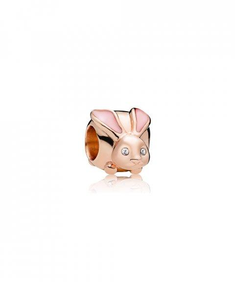 Pandora Rose Cute Bunny Joia Conta Mulher 787061EN160