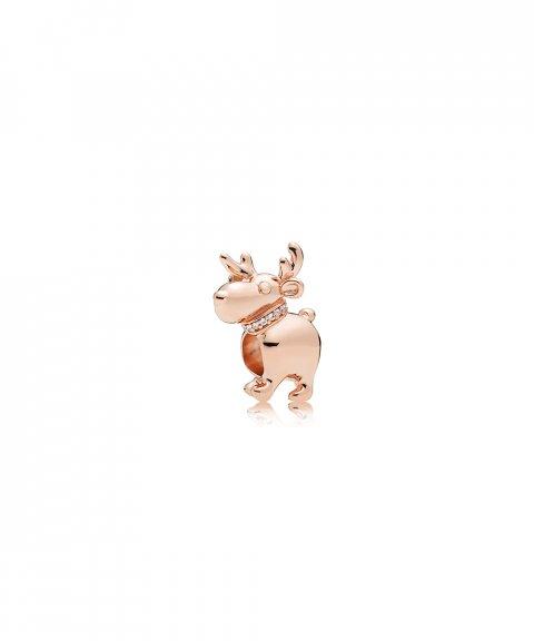 Pandora Rose Happy Reindeer Joia Conta Mulher 787514CZ