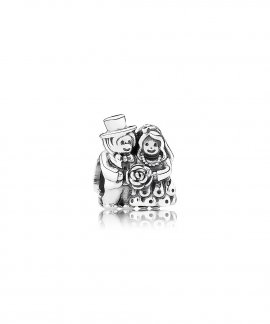 Pandora Bride and Groom Joia Conta Mulher 791116