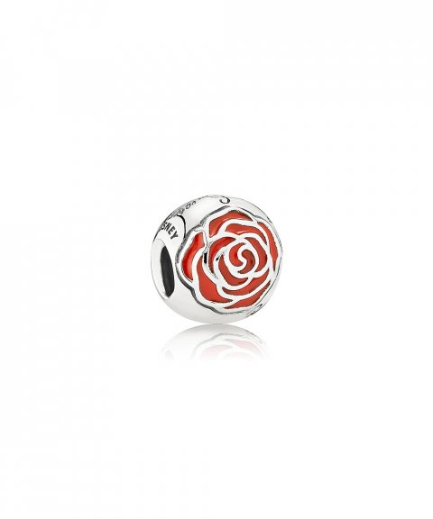 Pandora Disney Belle´s Enchanted Rose Joia Conta Mulher 791575EN09