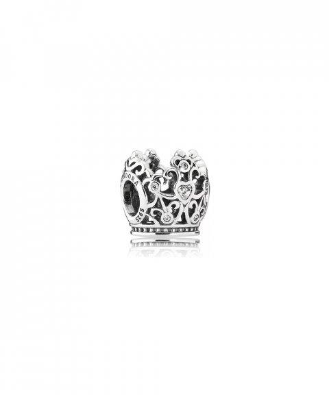 Pandora Disney Princess Crown Joia Conta Mulher 791580CZ
