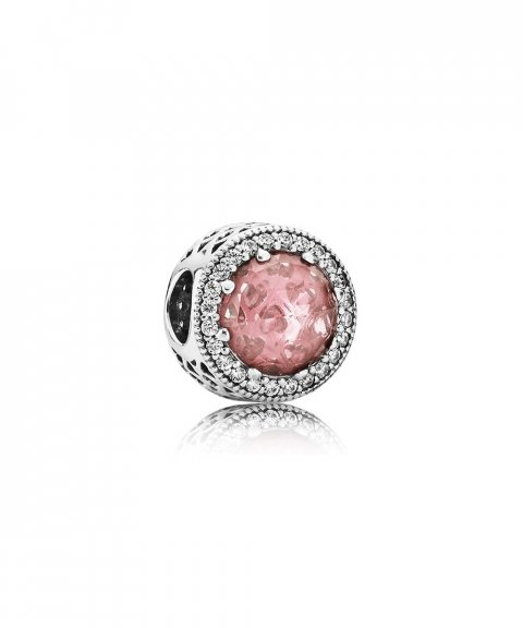 Pandora Radiant Hearts Rosy Joia Conta Mulher 791725NBP