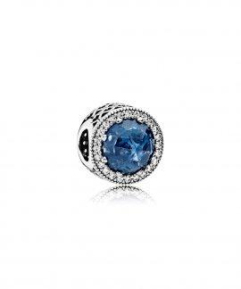 Pandora Radiant Hearts Moonlight Blue Joia Conta Mulher 791725NMB