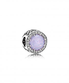 Pandora Radiant Hearts Opalescent Pink Joia Conta Mulher 791725NOP