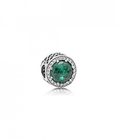 Pandora Radiant Hearts Green Joia Conta Mulher 791725NSG