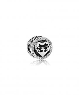 Pandora Disney Minnie and Mickey Love Joia Conta Mulher 791957CZ