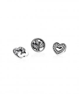 Pandora Love and Family Petites Pack Joia Acessório de Joia Mulher 792022CZ