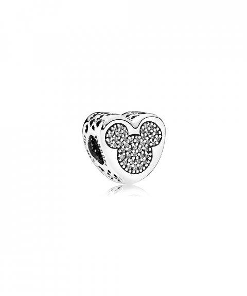 Pandora Disney Mickey and Minnie True Love Joia Conta Mulher 792050CZ