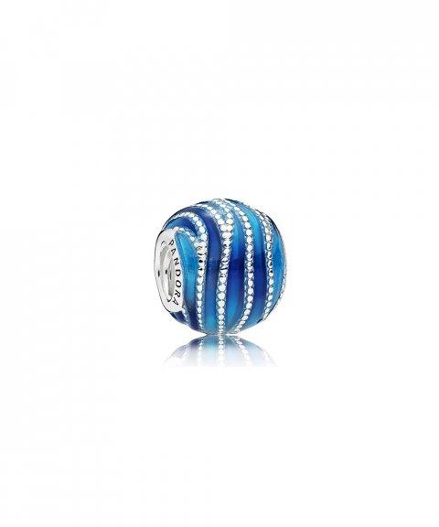 Pandora Blue Swirls Joia Conta Mulher 797012ENMX