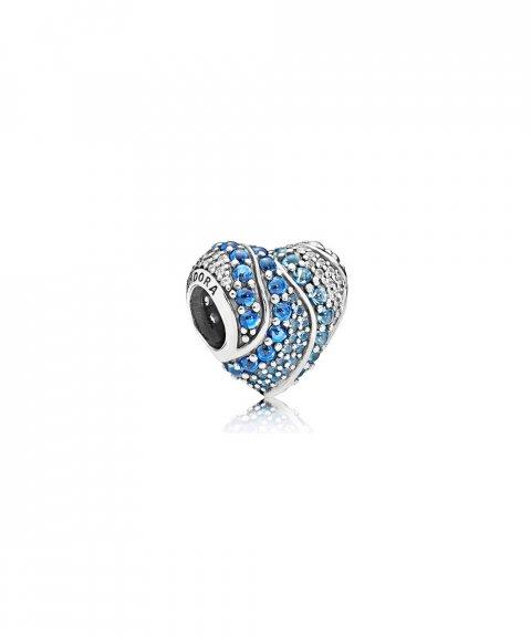 Pandora Aqua Heart Joia Conta Mulher 797015NABMX