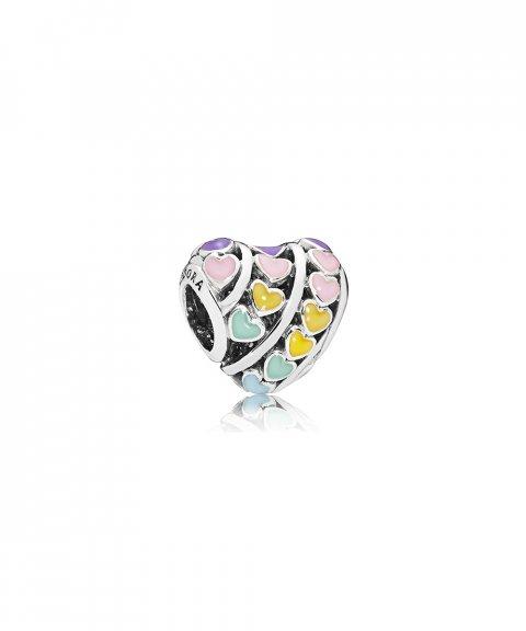 Pandora Multi-Colour Hearts Joia Conta Mulher 797019ENMX