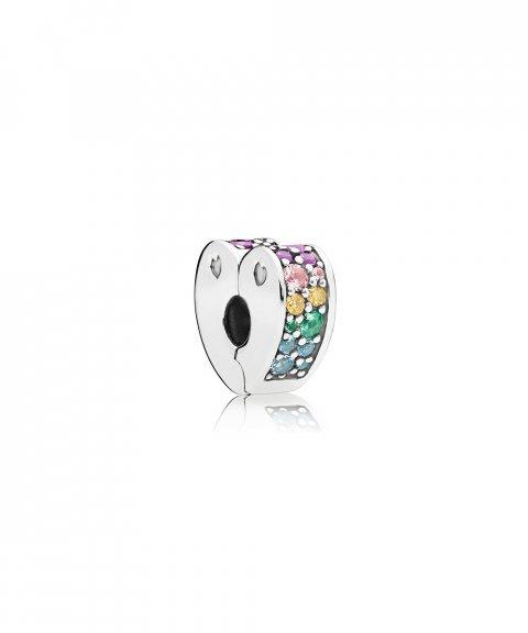 Pandora Multi-Colour Arcs of Love Joia Conta Clip Mulher 797020NRPMX