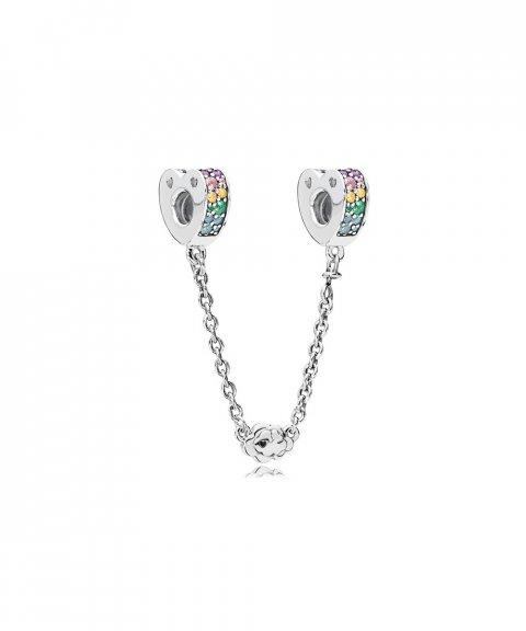 Pandora Multi-Colour Arcs of Love Joia Conta Corrente de Segurança Mulher 797021NRPMX-05