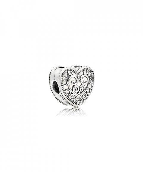 Pandora Enchanted Heart Joia Conta Clip Mulher 797024