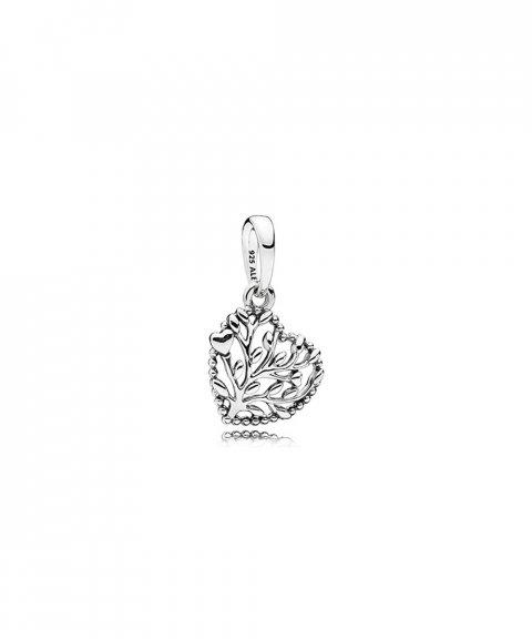 Pandora Flourishing Hearts Joia Conta Pendente Colar Mulher 797140