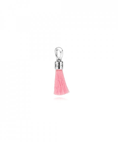 Pandora Bright Pink Tassel Joia Conta Pendente Pulseira Mulher 797212CBP