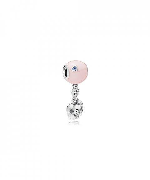 Pandora Elephant and Pink Balloon Joia Conta Pendente Pulseira Mulher 797239EN160