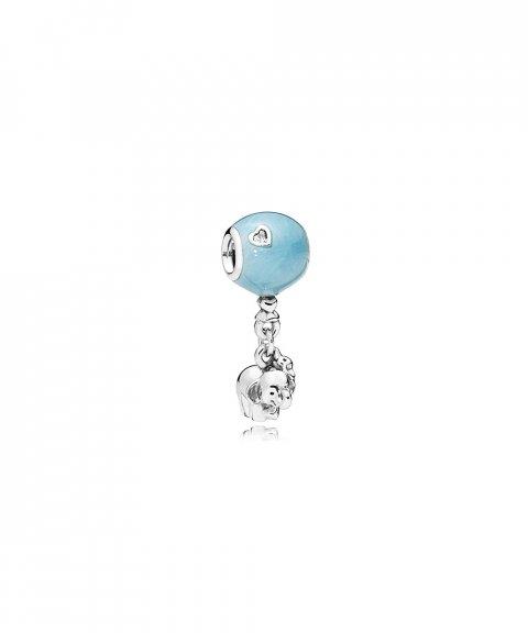 Pandora Elephant and Blue Balloon Joia Conta Pendente Pulseira Mulher 797239EN169