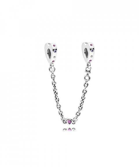 Pandora Bight Hearts Joia Conta Corrente de Segurança Mulher 797245NRPMX-05