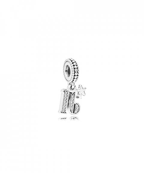 Pandora 16 Years of Love Joia Conta Pendente Pulseira Mulher 797261CZ