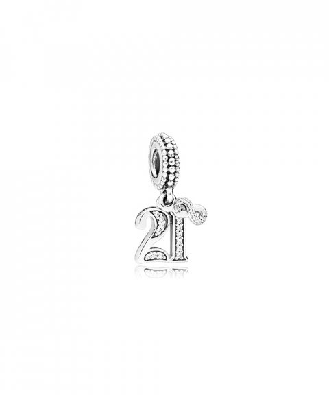 Pandora 21 Years of Love Joia Conta Pendente Pulseira Mulher 797263CZ