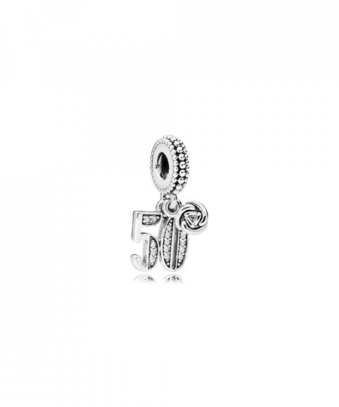 Pandora 50 Years of Love Joia Conta Pendente Pulseira Mulher 797264CZ