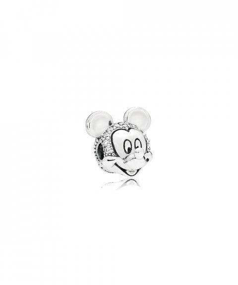 Pandora Disney Shimmering Mickey Portrait Joia Conta Clip Mulher 797495CZ