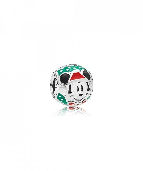 Pandora Disney Santa Mickey Joia Conta Mulher 797502ENMX