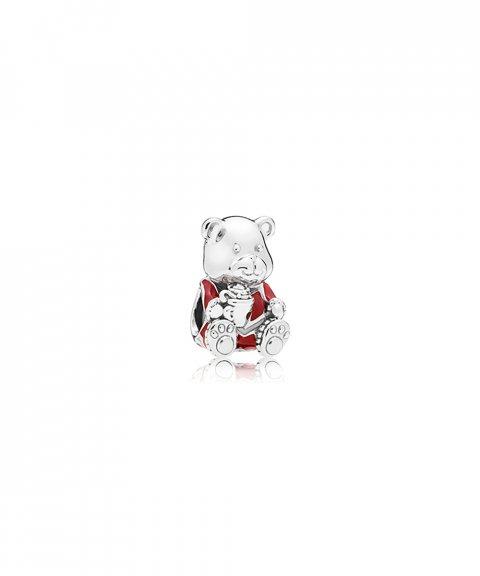 Pandora Christmas Bear Joia Conta Mulher 797564ENMX
